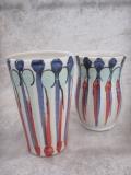 1kg vases striped motif 3 carnival